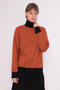 Rollkragensweater Try / rost - KOLO Berlin