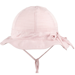 pure pure Baby/Mädchen Sonnenhut mit UV-Schutz Bio-Baumwolle - Pure-Pure