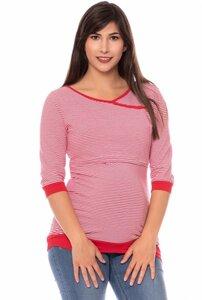 MARLENA 3/4 Arm Shirt gestreift aus Bio Baumwolle - Milchshake