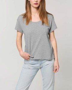 Locker geschnittenes Damen T-Shirt aus Bio Baumwolle - YTWOO