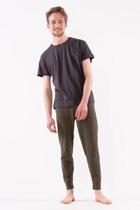 lässiges T-Shirt mit legerem Schnitt aus leichter feiner biologischer Baumwolle - YOIQI