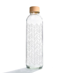 Carry Bottles Glastrinkflasche 0.7l verschiedene Designs - Carry Bottles