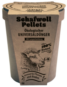Schafwollpellets, Dünger - ARIES