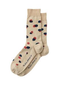 Nudie Jeans Socken Olsson Random Dots - Nudie Jeans