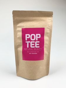 Bio Superfood Beauty-Tee mit Goji Beeren & Rooibos 60g - POP TEE