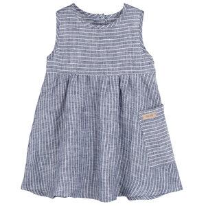 pure pure Baby und Kinder Sommer-Kleid mit UV-Schutz reines Leinen - Pure-Pure