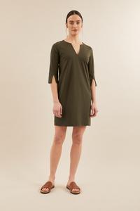 Kleid mit Ärmelschlitz - LANIUS