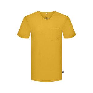 Pocket V-Neck T-Shirt Forestfibre - bleed