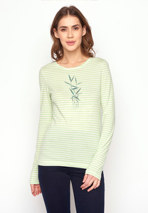 Longsleeve Charme Plants Reed Art - GreenBomb