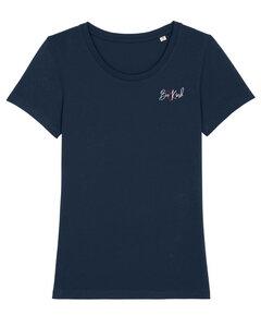 "Bio Damen Rundhals T-Shirt Amorous ""Be kind"" von Human Family - Human Family"