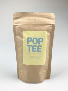 Bio Superfood Fresh Mind-Tee mit Ginseng & Minze 40g - POP TEE