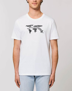 "Bio Unisex Rundhals T-Shirt ""Protect our Planet""  - Human Family"