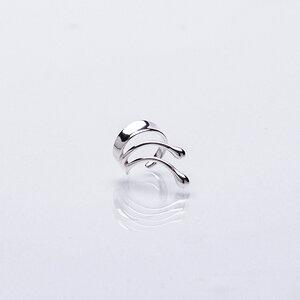 Schmuck von Nella Ear Cuffs - Ohrring kleine Sina aus recyceltem Silber, Rosegold oder Gold - Nella Earcuffs®
