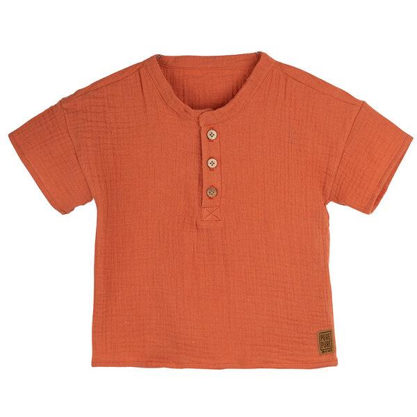Pure Pure Kinder T-shirt Mit Uv-schutz Reine Bio-baumwolle