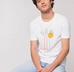 Reine Bio-Baumwolle - T-Shirt flauschig / Still Moment - Kultgut
