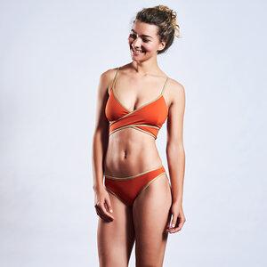 Bikinioberteil WRAPTOP SHINE wendbar - MYMARINI