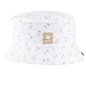 pure pure Mädchen Wende-Hut mit UV-Schutz reine Bio-Baumwolle - Pure-Pure
