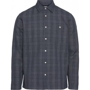Long Sleeve Checked Heavy Shirt - KnowledgeCotton Apparel