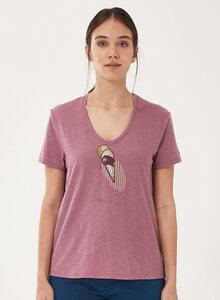 T-Shirt aus Bio-Baumwolle mit Eis-Print - ORGANICATION