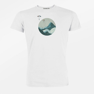 T-Shirt Guide Nature Sky Diver - GreenBomb