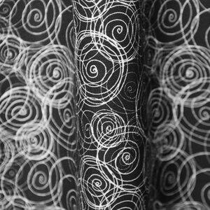 """Bio Stoff mit grafischem Muster 100% Biobaumwolle """"Dance""""  - Biostoffe Berlin by Julie Cocon"""