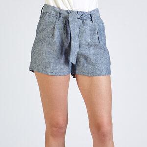 Shorts JESSICA aus Leinen - stoffbruch