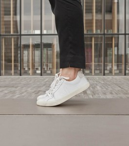 Sneaker Damen - Esplar Leather - Extra White - Veja