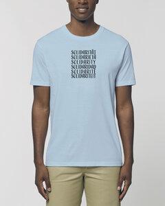 "Bio Unisex Rundhals T-Shirt ""Swing - Solidarity"" in 5 Farben - Human Family"