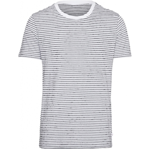 T-Shirt - ALDER striped tee - KnowledgeCotton Apparel
