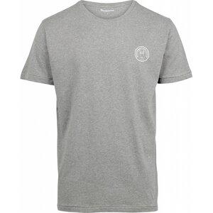 T-Shirt - ALDER owl print tee - KnowledgeCotton Apparel