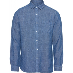 Hemd - ELDER LS small striped linen shirt - KnowledgeCotton Apparel