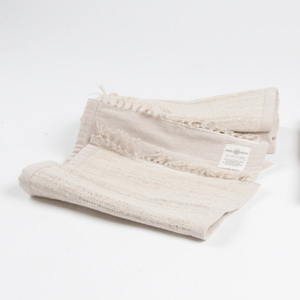 HH Tischset aus Bio-Hanf oder Recycle-Sari, handgewebt - Himal Hemp