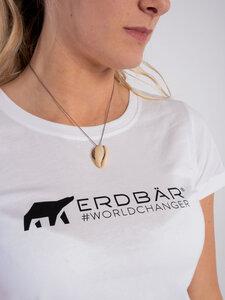 Damen T-Shirt Classic Logo - Erdbär
