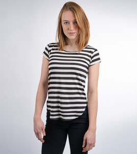 Kurzarmshirt Black Stripes - Gary Mash