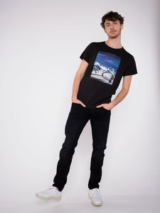 "Herren T-Shirt ""Mountain view"" - Erdbär"