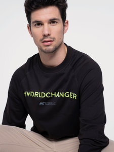 Herren Sweater #Worldchanger - Erdbär