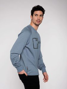 "Herren Sweatshirt ""Outside the box"" - Erdbär"