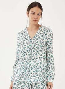Bluse aus Tencel mit Allover-Print - ORGANICATION