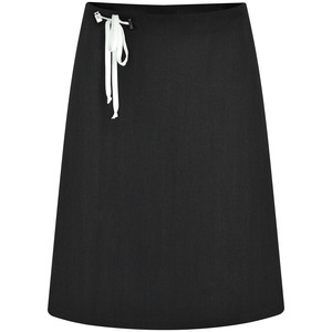 Kurzer Rock, Sommerrock schwarz, weiß oder rosa mit Bändern - SinWeaver alternative fashion
