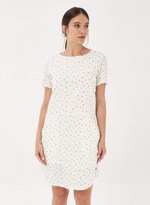 Kleid aus Bio-Baumwolle mit Allover-Print - ORGANICATION