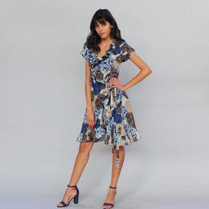 Wickelkleid mit Volants - ManduTrap