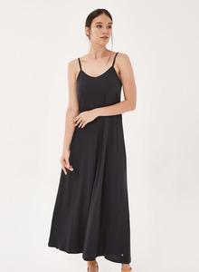 Spaghettiträger-Kleid aus Tencel mit Bio-Baumwolle - ORGANICATION