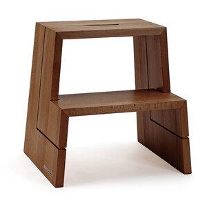 design holz tritthocker aus massiver buche natur ge lt von naturehome bei avocado store. Black Bedroom Furniture Sets. Home Design Ideas