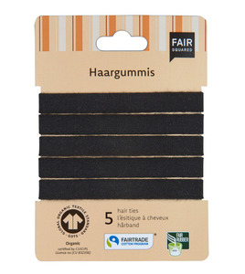 Haargummis 5-er-Set - Fair Squared
