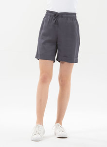 Paperbag-Shorts aus Tencel mit Kordelzug - ORGANICATION