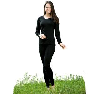 Damen Leggings, Feinripp - Engel natur