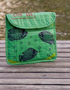 Fair.wischt - grüne Fische - Milchmeer ecobags