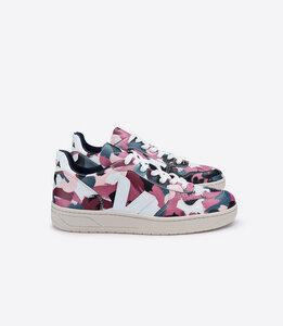 Sneaker Damen - V-10 Leather - Dazzle White  - Veja