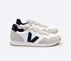 Sneaker Damen - SDU - B-Mesh / Alveomesh - White Black Natural - Veja