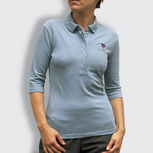 "Damen Polo-Shirt, ""Origami"" - little kiwi"